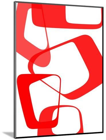 Abstract Rings 3-NaxArt-Mounted Art Print