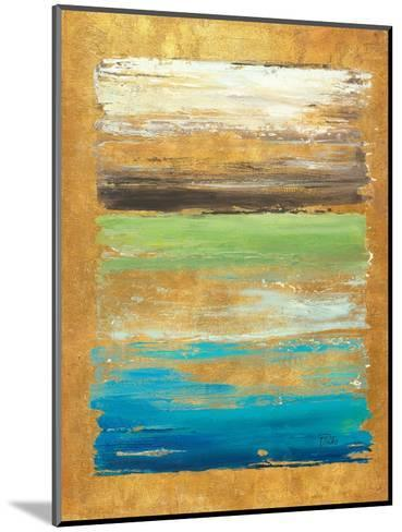 The Palette in Gold-Patricia Pinto-Mounted Art Print