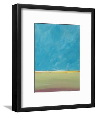 Earth Meets Sky 2-Jan Weiss-Framed Art Print
