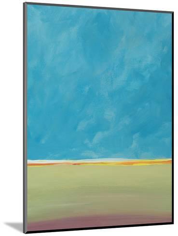 Earth Meets Sky 2-Jan Weiss-Mounted Art Print