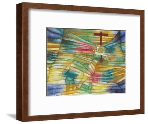 The Lamb-Paul Klee-Framed Art Print