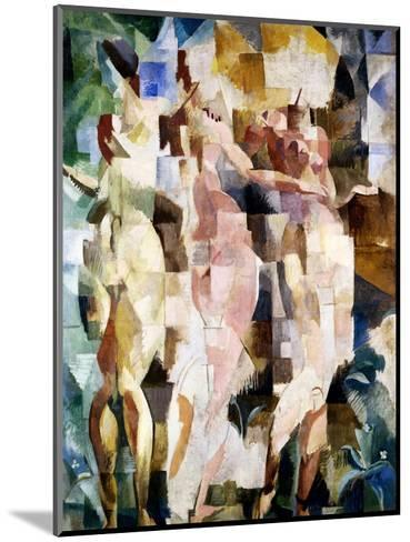 The Three Graces, 1912-Robert Delaunay-Mounted Giclee Print