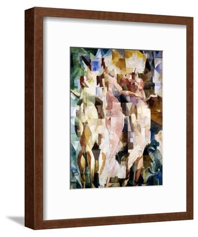 The Three Graces, 1912-Robert Delaunay-Framed Art Print