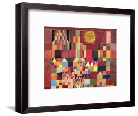 Castle and Sun-Paul Klee-Framed Art Print