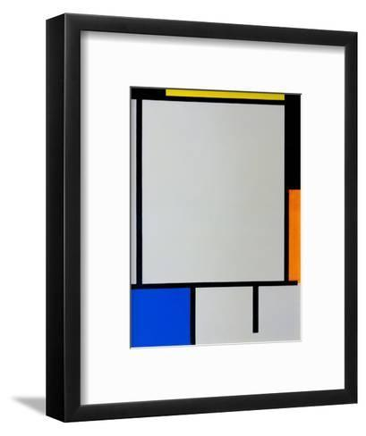 Composition-Piet Mondrian-Framed Art Print