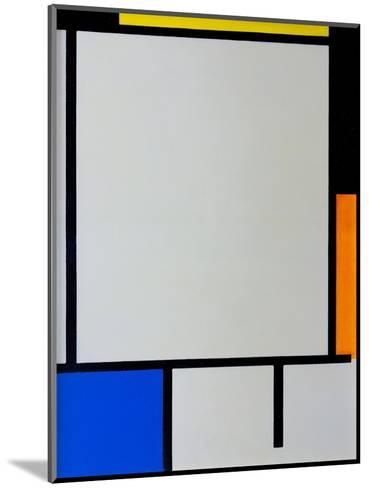 Composition-Piet Mondrian-Mounted Giclee Print