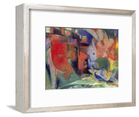 Abstract Forms II, 1914-Franz Marc-Framed Art Print