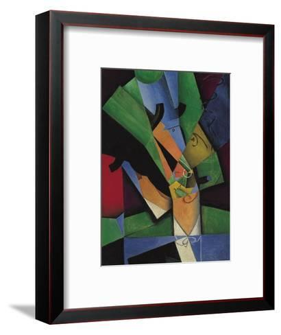 The Smoker (Frank Havilan), 1913-Juan Gris-Framed Art Print