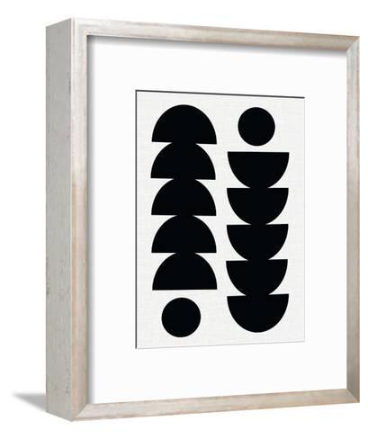 Tropical-Seventy Tree-Framed Art Print