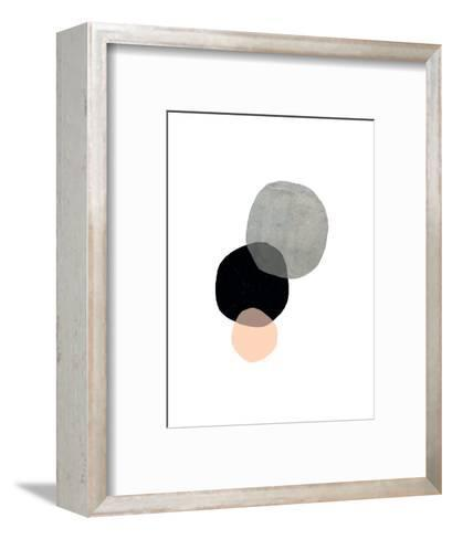Circles-Seventy Tree-Framed Art Print