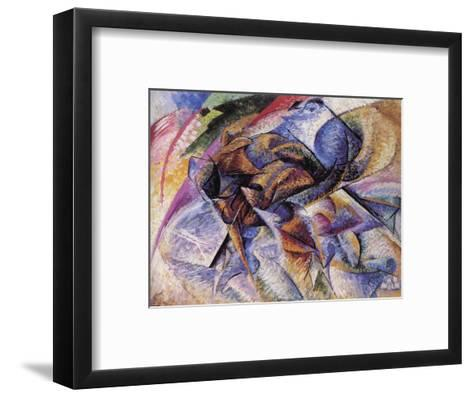 The Dynamism of a Cyclist-Umberto Boccioni-Framed Art Print