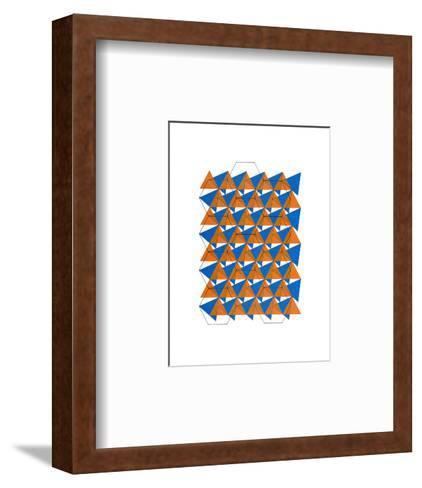 Overlaying Grids, 2007-Peter McClure-Framed Art Print