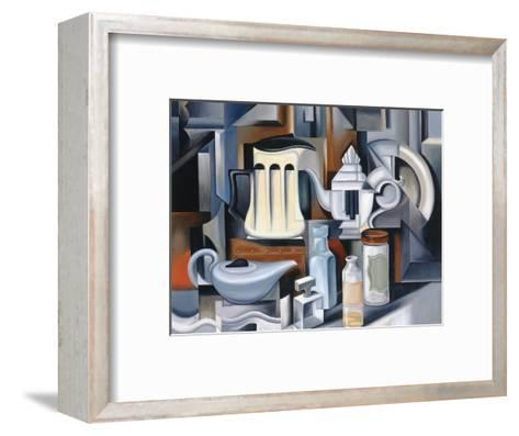 Still Life with Teapots-Catherine Abel-Framed Art Print