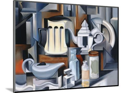 Still Life with Teapots-Catherine Abel-Mounted Giclee Print