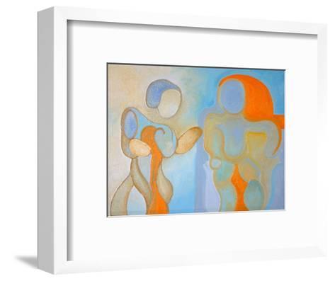 Man and Woman Nr 1, 2009-Jan Groneberg-Framed Art Print