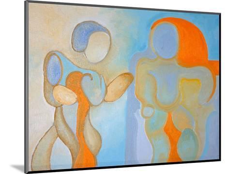 Man and Woman Nr 1, 2009-Jan Groneberg-Mounted Giclee Print
