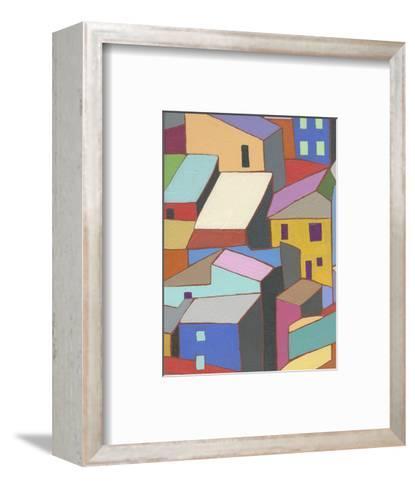Rooftops in Color II-Nikki Galapon-Framed Art Print