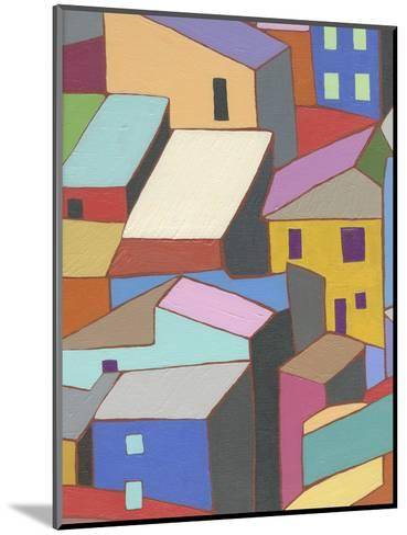 Rooftops in Color II-Nikki Galapon-Mounted Art Print