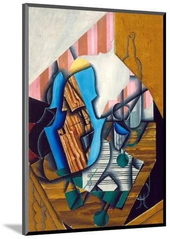 Still Life with Violin and Music Sheet, 1914-Juan Gris-Mounted Giclee Print