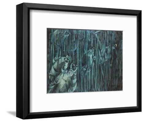 States of Mind: Those Who Stay, 1911-Umberto Boccioni-Framed Art Print
