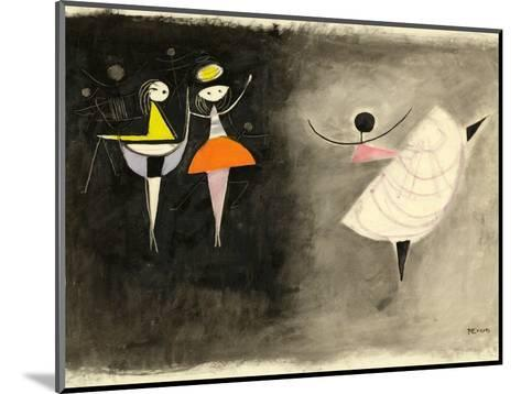 Dancer, C.1950-Anneliese Everts-Mounted Giclee Print