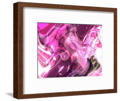 Abstract 14-Shiroki Kimaneka-Framed Art Print