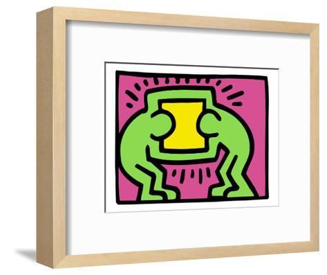 Pop Shop (TV)-Keith Haring-Framed Art Print