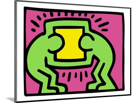 Pop Shop (TV)-Keith Haring-Mounted Giclee Print