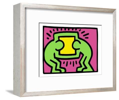 Pop Shop (TV)-Keith Haring-Framed Art Print