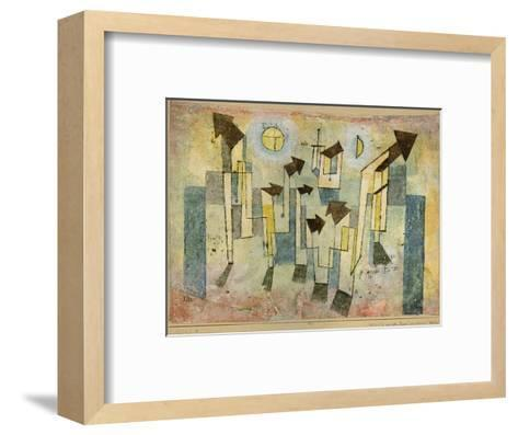 Wall Painting from the Temple of Longing Thither, 1922-Paul Klee-Framed Art Print