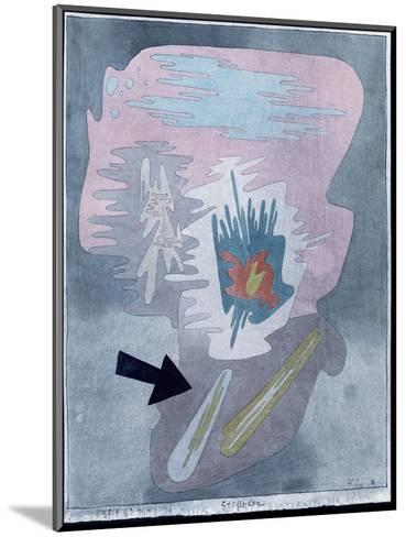 Still Life, 1929-Paul Klee-Mounted Giclee Print