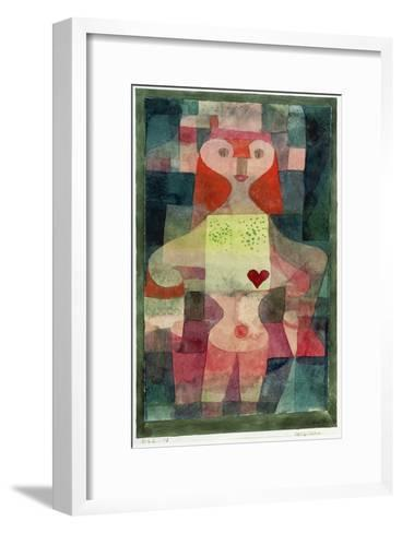 Queen of Hearts (Herzdame), 1922 Giclee Print by Paul Klee | Art.com