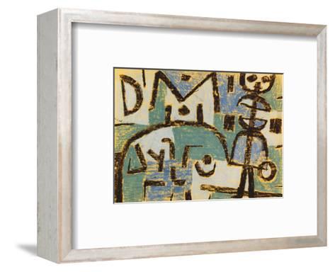 Schicksal Eines Kindes, 1937-Paul Klee-Framed Art Print