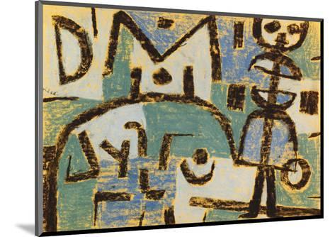 Schicksal Eines Kindes, 1937-Paul Klee-Mounted Giclee Print