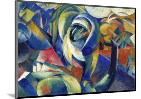 The Mandrill, 1913-Franz Marc-Mounted Giclee Print