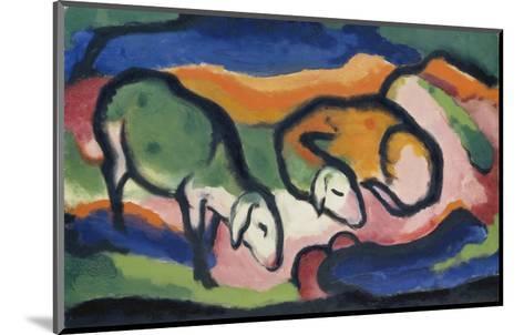 Sheep, 1912-Franz Marc-Mounted Giclee Print