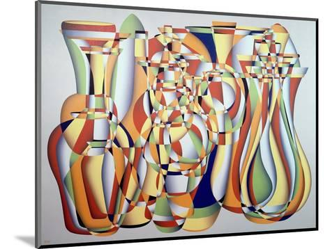Time and the Abstract Truth, Lapis Orange-Brian Irving-Mounted Giclee Print