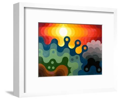 Sunset, 1985-Emil Parrag-Framed Art Print