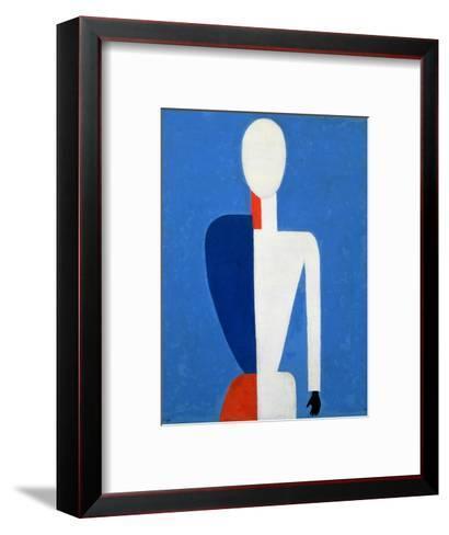 Torso, Transformation to a New Shape, 1928-32-Kasimir Malevich-Framed Art Print