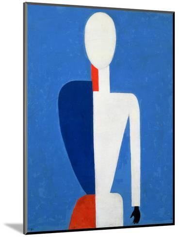 Torso, Transformation to a New Shape, 1928-32-Kasimir Malevich-Mounted Giclee Print