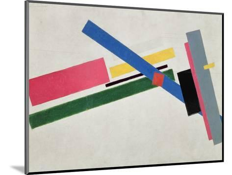 Suprematist Construction-Kasimir Malevich-Mounted Giclee Print