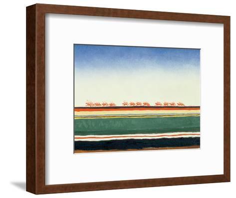 Red Cavalry, 1928-32-Kasimir Malevich-Framed Art Print