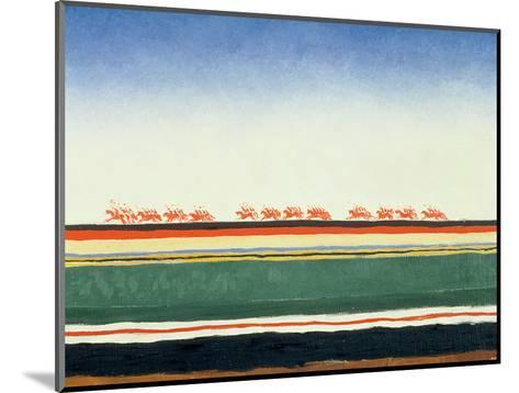 Red Cavalry, 1928-32-Kasimir Malevich-Mounted Giclee Print