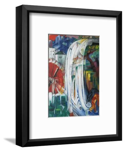 The Bewitched Mill, 1913-Franz Marc-Framed Art Print