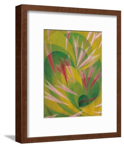 The Vortex of Life-Giacomo Balla-Framed Art Print