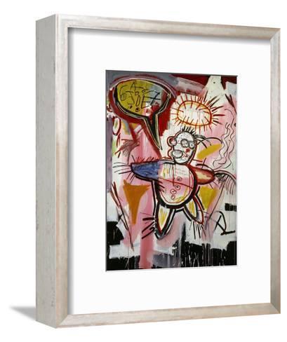 Donut Revenge-Jean-Michel Basquiat-Framed Art Print