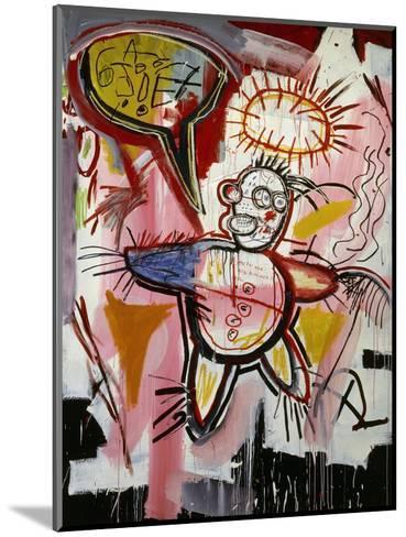 Donut Revenge-Jean-Michel Basquiat-Mounted Giclee Print