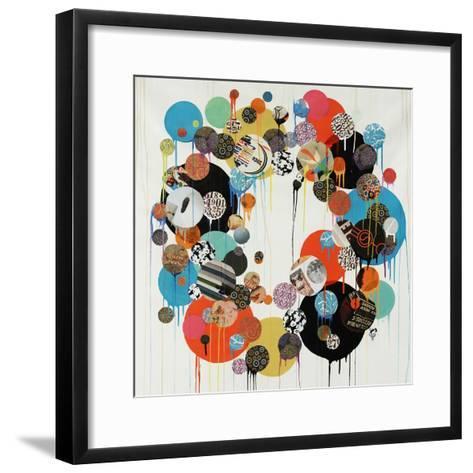 Polka Dot-Sydney Edmunds-Framed Art Print