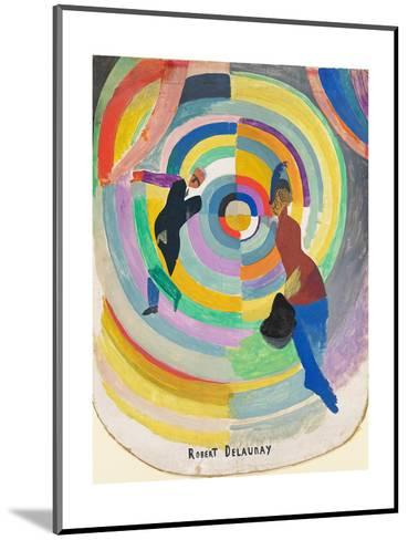 Political Drama, 1914-Robert Delaunay-Mounted Giclee Print