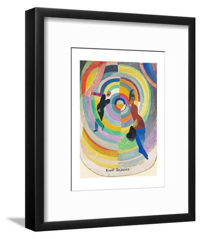 Political Drama, 1914-Robert Delaunay-Framed Art Print